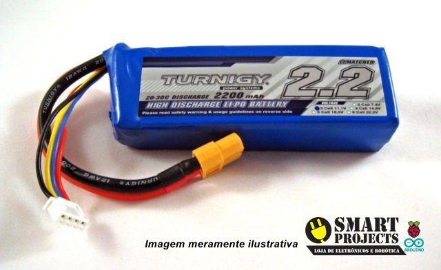 Lipo Bateria 2200 Mah 3s 25c Turnigy Aero Drone