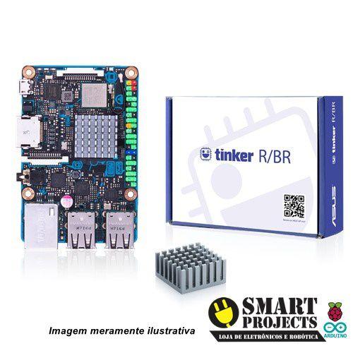 ASUS TINKER BOARD R BR 2GB MEMORIA QUAD-CORE RK3288 GIGA LAN