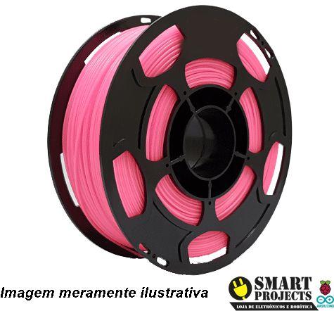 FIlamento PLA 1,75mm 1kg rosa para impressora 3D