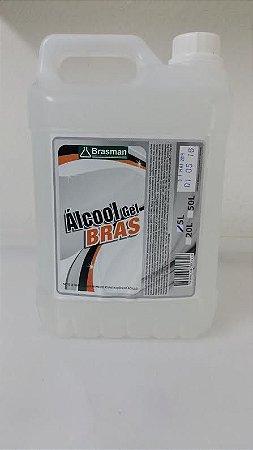 Álcool em Gel  Bras 5L