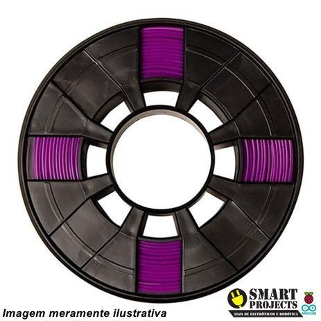 FIlamento PLA 1,75mm 1kg Purple para impressora 3D