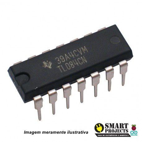 Amplificador Operacional com entrada JFET - TL084CN