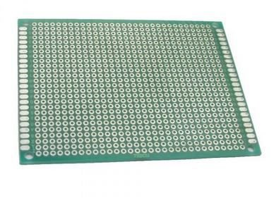 Fenolite Placa de Circuito Impresso Ilhada de Dupla Face - 7x9 cm