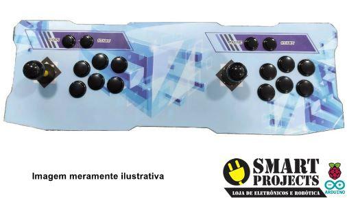 Fliperama Digital Controle Arcade Portátil