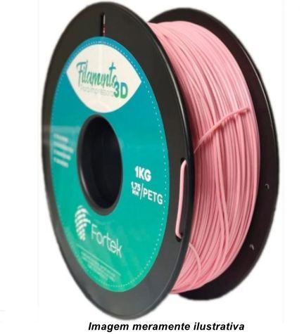 Filamento PET-G 1,75mm 1KG Rosa