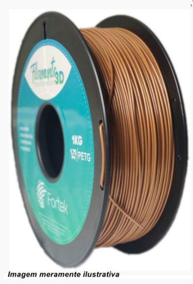 Filamento PET-G 1,75mm 1KG Dourado