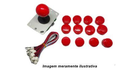 Kit Arcade Tipo Sanwa Para Pc, Rasp, Ps3