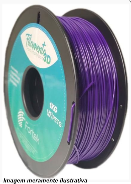 Filamento PET-G 1,75mm 1KG Purple