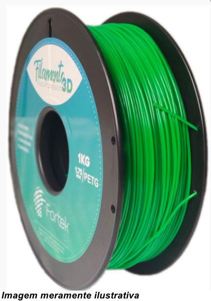 Filamento PET-G 1,75mm 1KG Verde