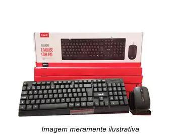 Teclado e Mouse com Fio Havit KB272CM