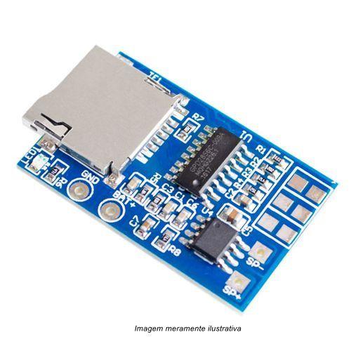 Módulo Decodificador / Amplificador de Áudio MP3 GPD2846A 2W