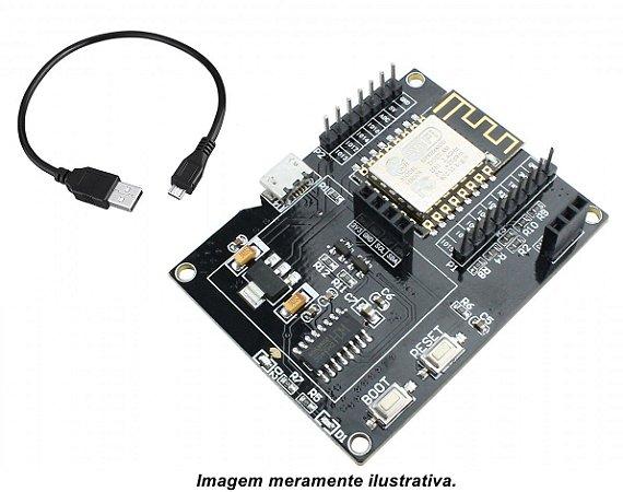 Placa de Desenvolvimento IOT ESP8266 12F Wifi Slots p/ Oled e DHT11