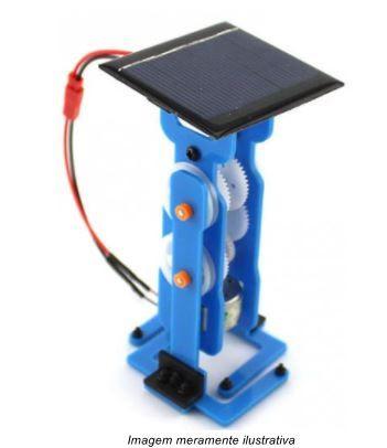 Kit Diy Robô com Controle a Cabo / Energia Solar