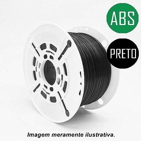 Filamento ABS 1,75mm 1Kg Preto