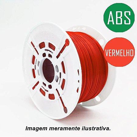 Filamento ABS 1,75mm 1Kg Vermelho