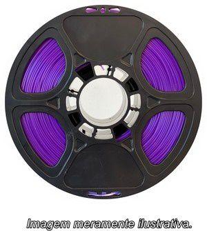 FIlamento PLA 1,75mm 1kg Violeta Translúcido para impressora 3D