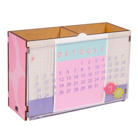 PORTA CARTAO E CALENDARIO - AMIGA INCRIVEL