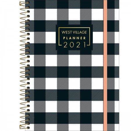 AGENDA TILIBRA PLANNER WEST VILLAGE 2021 1/4