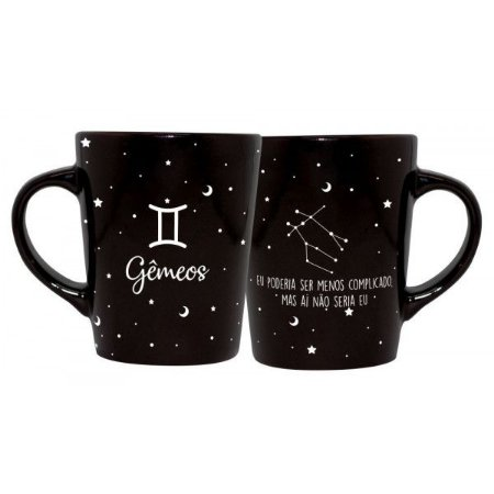 CANECA DECORATIVA CATARINA 270ML - SIGNOS - GEMEOS