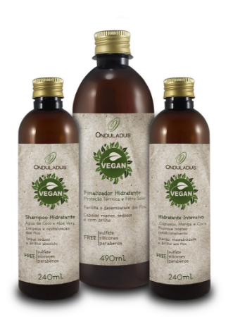 Kit Onduladus Vegan 970ml