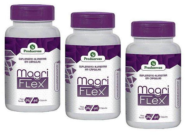 Cápsulas Para Emagrecer Aprovada Pela Anvisa MagriFlex 3 Pts