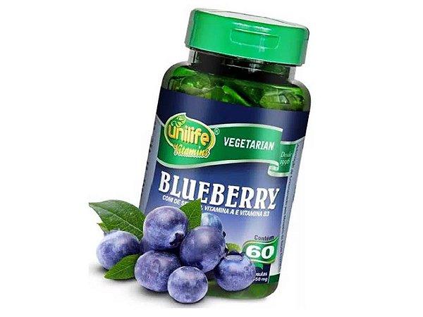 Blueberry Mirtilos 60 capsulas 550 mg