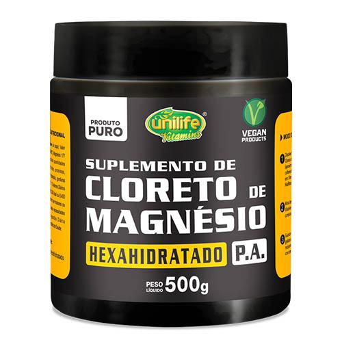 Cloreto de Magnésio PA Mineral Essencial Pote  500 gr