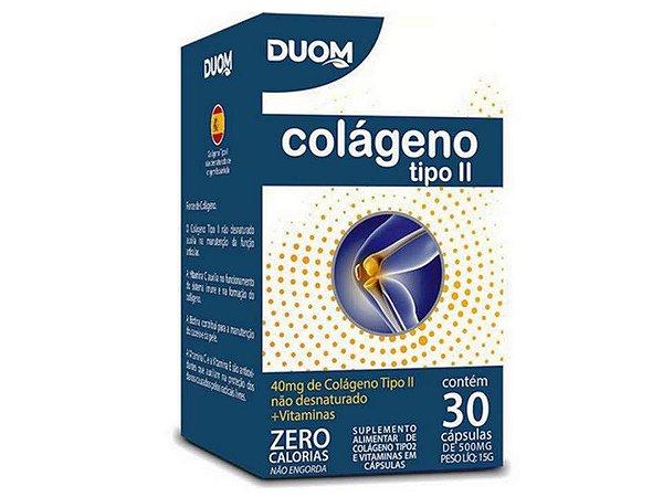 Colágeno UC TIPO 2 Com Vitaminas 30 cápsulas
