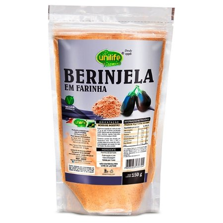 Extrato de Berinjela Farinha de Berinjela 150 gr