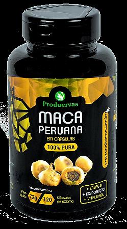 Maca Peruana Pura Produervas 120 capsulas 600 mg