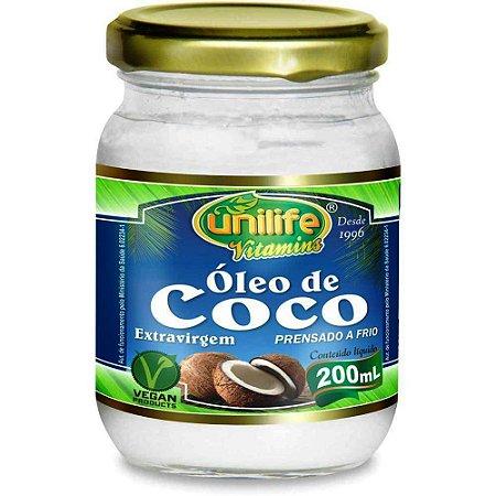 Óleo de Coco Puro Extra Virgem 200 ml Beneficios