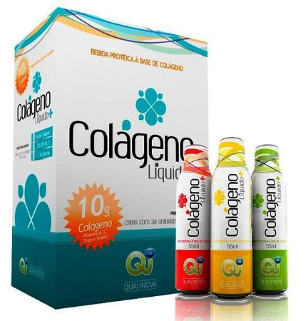 Colageno Liquido Qualinova Absorção 300% Maior Beneficios