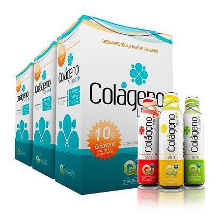 Colageno Liquido Qualinova Absorção 300% Maior Funciona 90 dias
