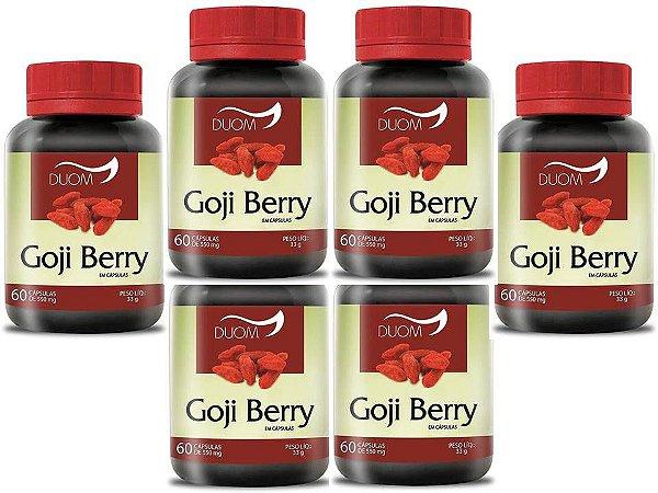 Goji Berry Saciedade Transito Intestinal 360 caps 550 mg