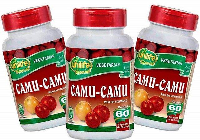 Vitamina C Camu Camu Danos dos Radicais Livres 180 Cáps 500 mg