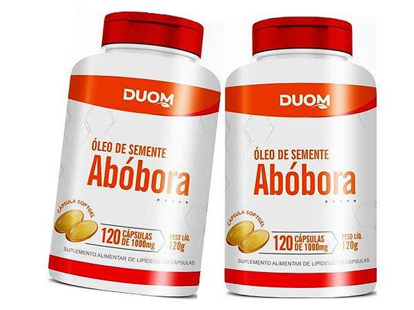Oleo Semente de Abobora Beneficios 240 Cápsulas 1 g.