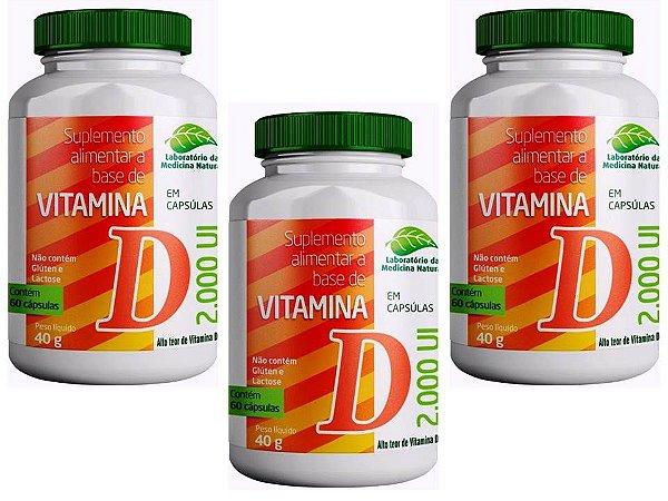 Vitamina D3 2000 Ui 180 Capsulas Imunidade Disposição 4 Pt