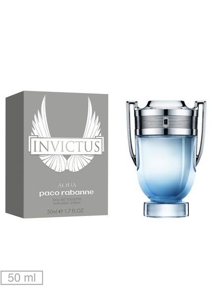 PERFUME INVICTUS AQUA EDT 50ML