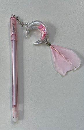 Caneta Amuleto Filtro dos Sonhos Rosa
