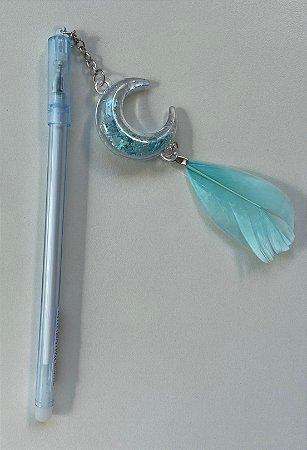 Caneta Amuleto Filtro dos Sonhos Azul