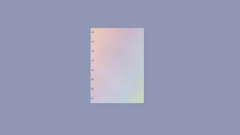 Refil Rainbow A5 Caderno Inteligente
