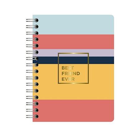 Agenda Planner Completo Atemporal Allegro Best Friend Ever Wire-o A5