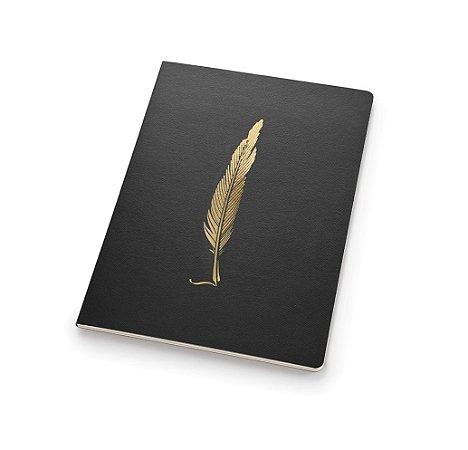Caderno ultra Noir flexivel