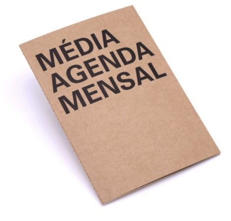 Planner Mensal Na Medida Medio Kraft A4