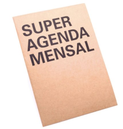 Planner Mensal Na Medida Grande Kraft A3