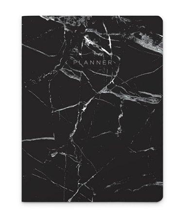 Planner Revista Marmore Preto