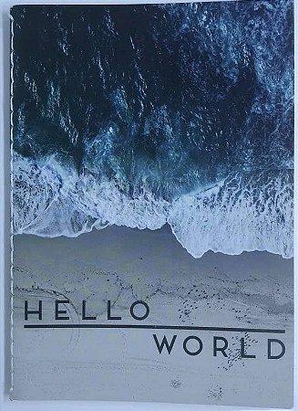 Caderno Pocket A6 Water Hello World