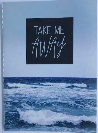 Caderno Pocket A6 Water Take Me Away