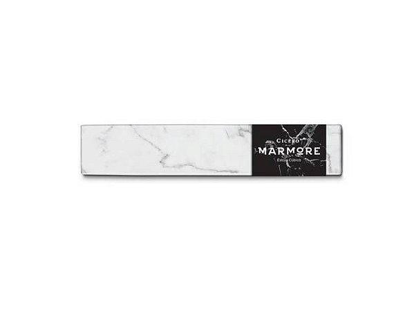 Estojo cubico Marmore Branco