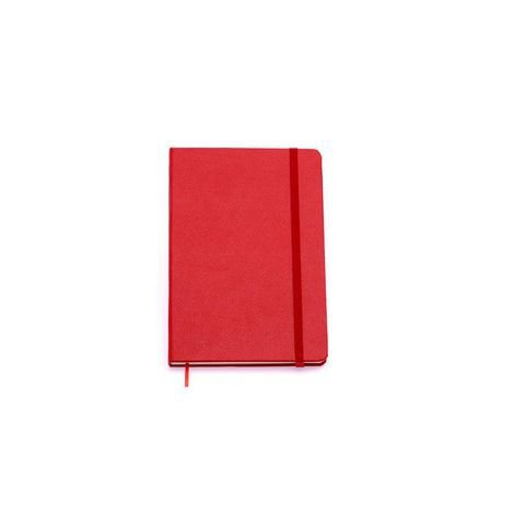 Caderneta Clássica sem pauta Vermelha 14x21